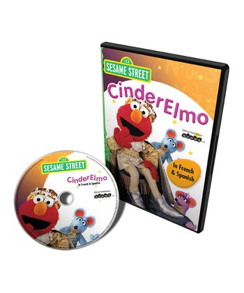 French & Spanish CinderElmo DVD