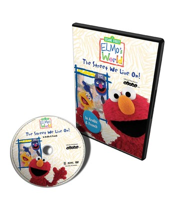 Arabic & French Elmo's World: The Street We Live On DVD