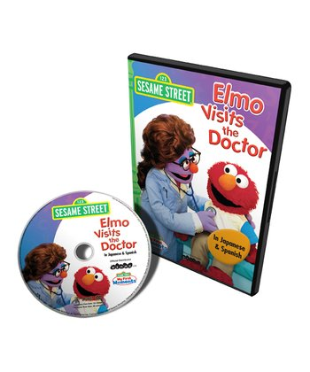 Japanese & Spanish Elmo Visits the Doctor DVD