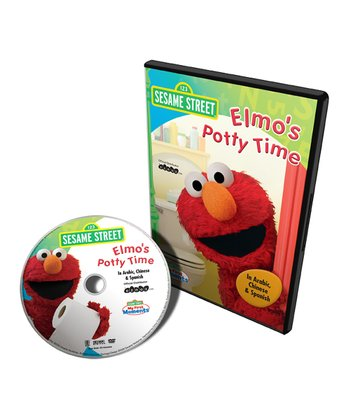 Arabic, Chinese & Spanish Elmo's Potty Time DVD