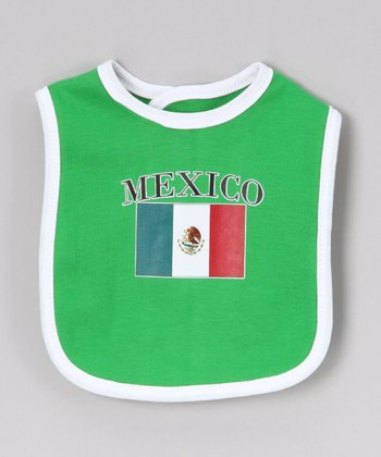 Green 'Mexico' Flag Bib