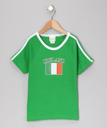 Green 'Ireland' Tee - Infant, Toddler & Kids