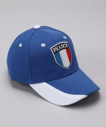Royal 'France' Flag Baseball Cap