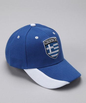 Royal 'Greece' Flag Baseball Cap