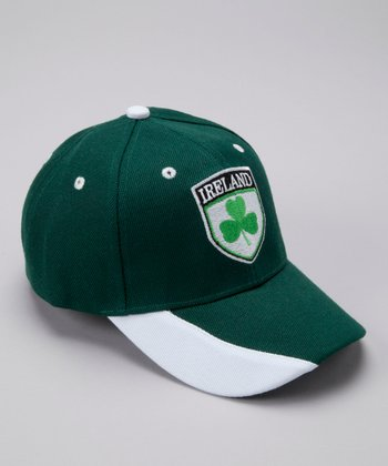 Green 'Ireland' Flag Baseball Cap