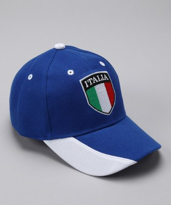 Royal 'Italy' Flag Baseball Cap