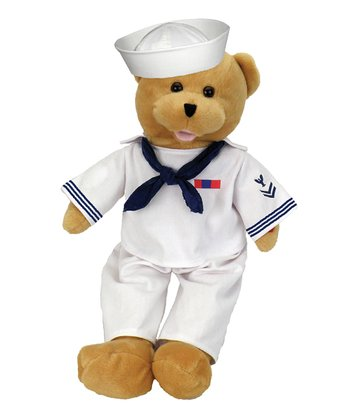 American Heroes Navy Bear Sound Plush Toy