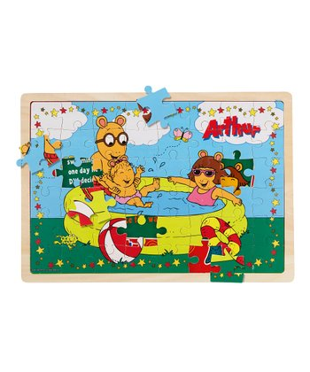 Swimming Pool & New Glasses Arthur Puzzle Set
