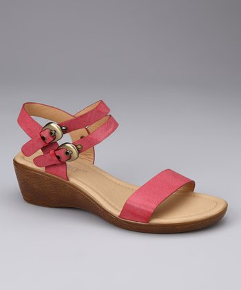 Red Angel Sandal