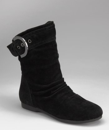 Black Pull-On Carina Boot