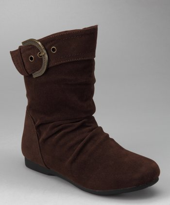 Brown Pull-On Carina Boot
