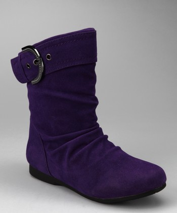 Purple Pull-On Carina Boot