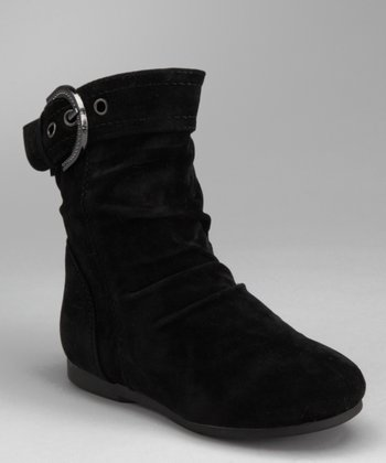 Black Zip-Up Carina Boot