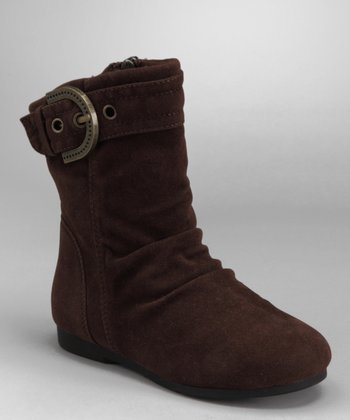 Brown Zip-Up Carina Boot