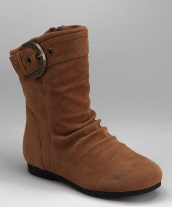 Camel Zip-Up Carina Boot