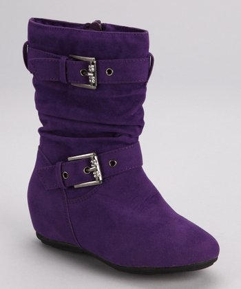Purple Gloria Boot