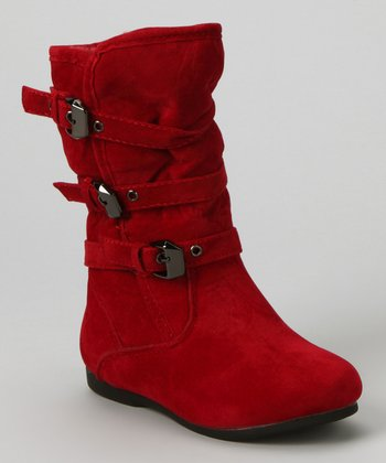 Red Loretta Boot