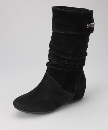 Black Pull-On Missouri Boot