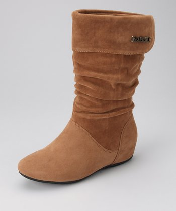 Camel Pull-On Missouri Boot