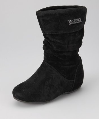Black Zip-Up Missouri Boot