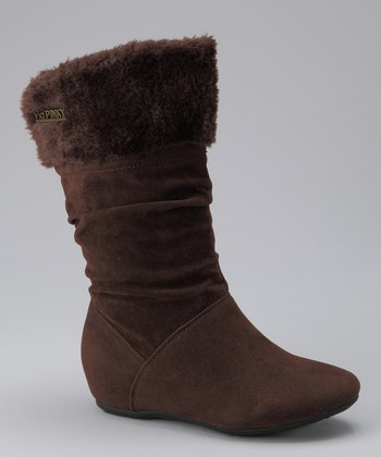 Brown Cuff Missouri Boot