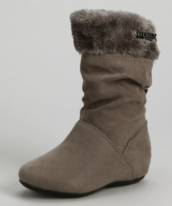 Gray Cuff Missouri Boot