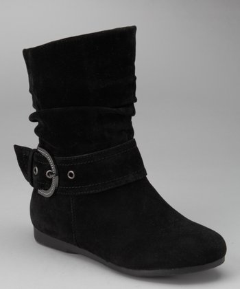 Black Pull-On Thalia Boot