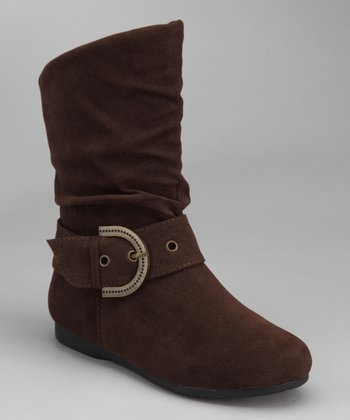 Brown Pull-On Thalia Boot