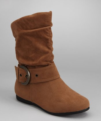 Camel Pull-On Thalia Boot