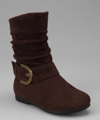 Brown Zip-Up Thalia Boot