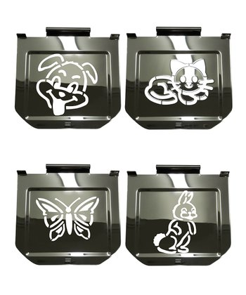 Animals Toaster Stencil Set