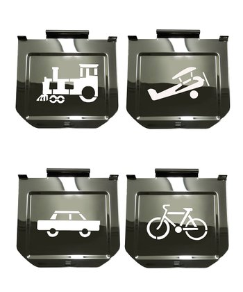 Transportation Toaster Stencil Set