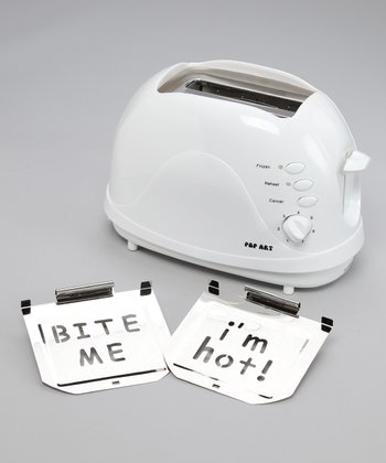 'I'm Hot' & 'Bite Me' Two-Image Toaster