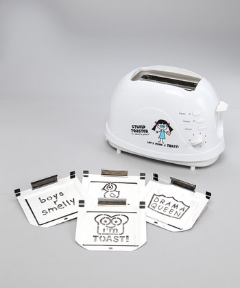 Stupid by David & Goliath Four-Image Toaster