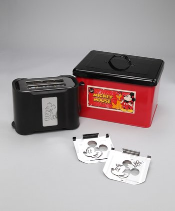 Limited Edition Vintage Mickey Toaster Set