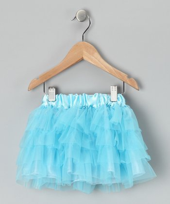Aqua Tiered Tutu - Infant & Toddler