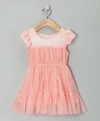 Pink Tiana Dress - Toddler & Girls