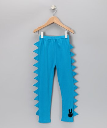 Blue Punk Leggings - Toddler & Girls