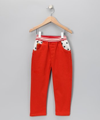 Orange Pop Star Jeans - Girls