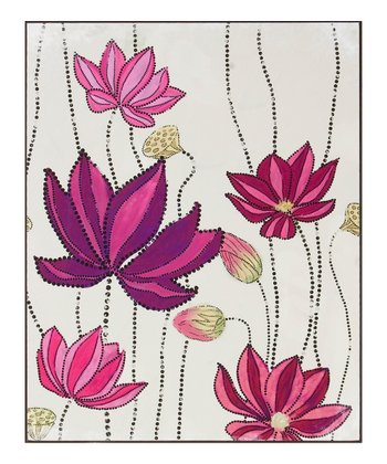 Lotus Laminate Box Print
