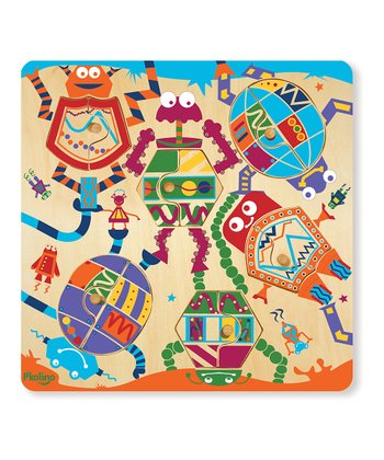 P'kolino Mix & Match: Robot Puzzle Set