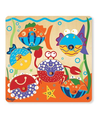 P'kolino Mix & Match: Sea Life Puzzle Set