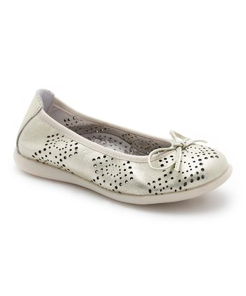 Gold Perforated Flat