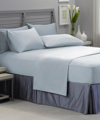 Blue Best Fit Sheet Set