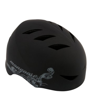 Mongoose Black Street Helmet
