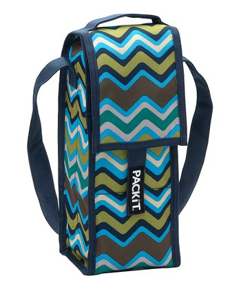 Blue Emma Single Wine Bag Cooler