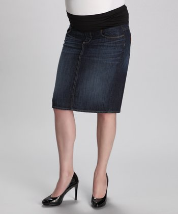 Rebel Without a Cause Larchmont Maternity Skirt