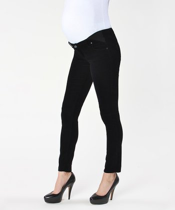 Overdye Verdugo Under-Belly Maternity Skinny Jeans
