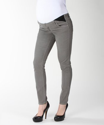 Dove Verdugo Under-Belly Maternity Ultra-Skinny Jeans