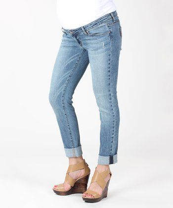 Playa Westbourne Jimmy Under-Belly Maternity Skinny Jeans